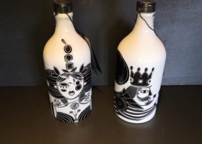 Olio EVO Muraglia bottiglia scacchi