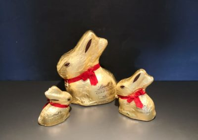Uova Lindt coniglietti