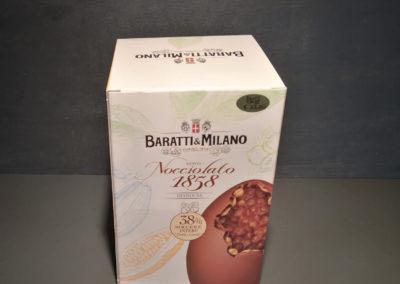 Uova Pasqua Baratti&Milano nocciolato 1858