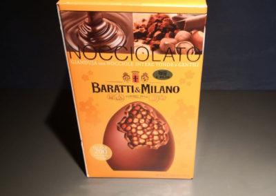 Uova Pasqua Baratti&Milano nocciolato